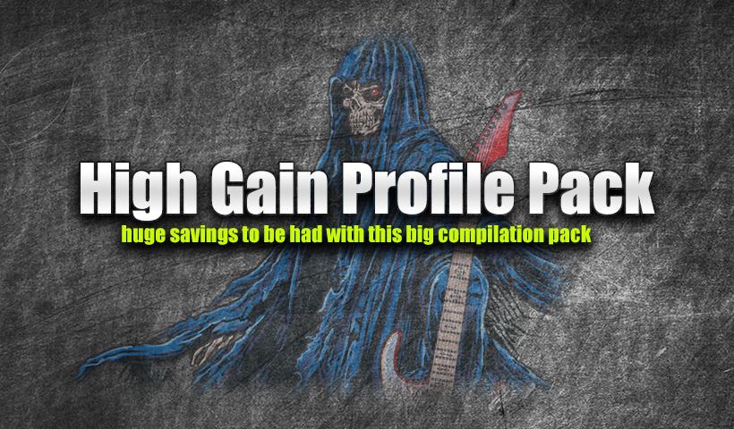 High Gain Kemper Profiles Bundle | Ultimate Metal - Heavy Metal